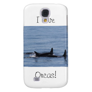 Orcas of the Puget Sound Samsung Galaxy S4 Cases