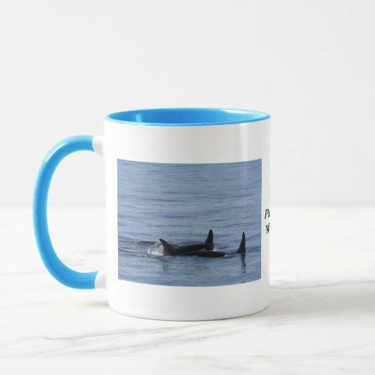 Orcas of the Puget Sound Mug
