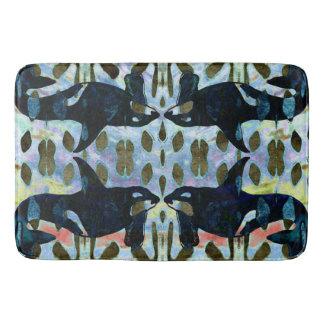 Orcas Pattern Bathroom Mat