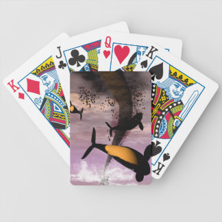 Orcas Bicycle Card Deck