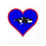 orcas postcards
