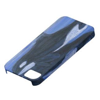 Orcas que nadan funda para iPhone 5 barely there