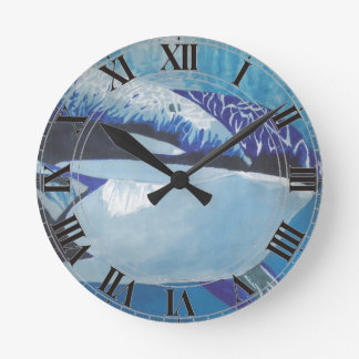 Orcas Reloj Redondo Mediano