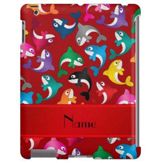 Orcas rojas conocidas personalizadas del arco iris