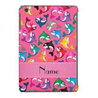 Orcas rosadas conocidas personalizadas del arco carcasa para iPad mini