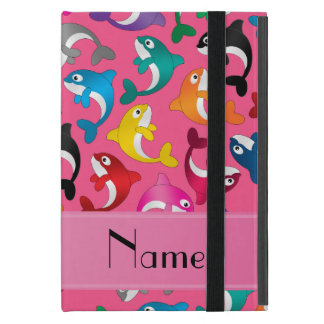 Orcas rosadas conocidas personalizadas del arco iPad mini fundas