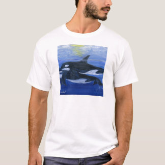 Orcas swimming T-Shirt