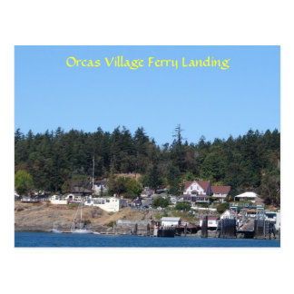 Orcas Village Ferry Landing Post Cards