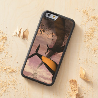 Orcas Carved® Maple iPhone 6 Bumper