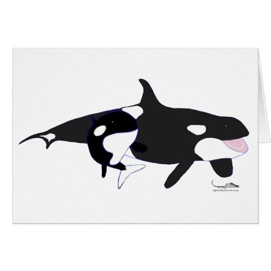 Orcasby artJones Card