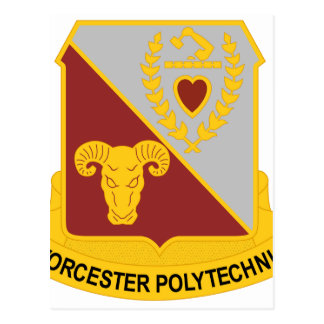 orcester Polytechnic Institute, Worcester, MA, sho Postcard