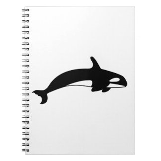 Orcha Whale Drawing Notebook