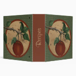 Orchard Apple Recipe Binder