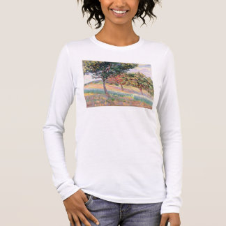 Orchard at St. Cheron, 1893 (oil on canvas) Long Sleeve T-Shirt