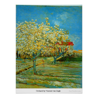 Orchard by Vincent van Gogh Posters
