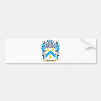 Orchard Coat of Arms - Family Crest Bumper Sticker