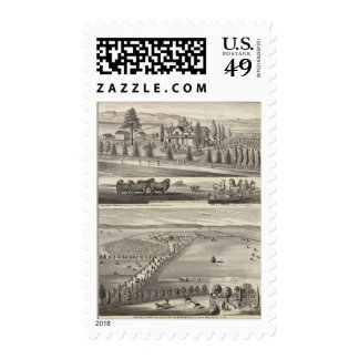 Orchard Farm, Somerville Lodge Postage Stamps