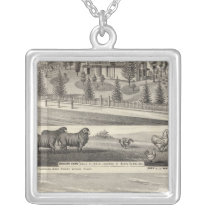 Orchard Farm, Somerville Lodge Silver Plated Necklace