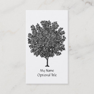 Orchard Fruit Tree Business Card