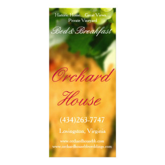 Orchard House rack cards