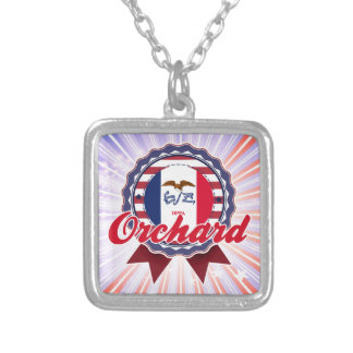 Orchard, IA Personalized Necklace