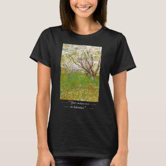 Orchard in Bloom Vincent van Gogh  fine art T-Shirt