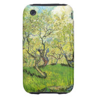 Orchard in Blossom by Vincent van Gogh Tough iPhone 3 Covers
