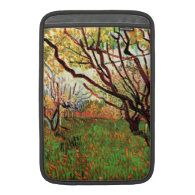 Orchard in Blossom by Vincent van Gogh. Sleeves For MacBook Air