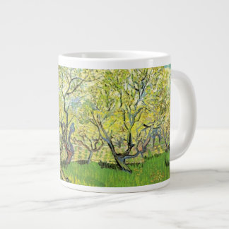 Orchard in Blossom by Vincent van Gogh. 20 Oz Large Ceramic Coffee Mug