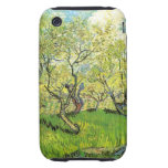 Orchard in Blossom by Vincent van Gogh Tough iPhone 3 Cases