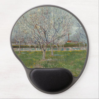 Orchard in Blossom Plum Trees by Vincent Van Gogh Gel Mouse Pads