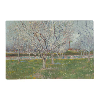 Orchard in Blossom Plum Trees by Vincent Van Gogh Placemat