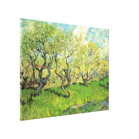 Orchard in Blossom, Vincent van Gogh Canvas Prints