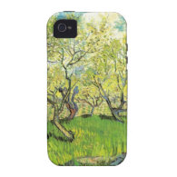 Orchard in Blossom, Vincent van Gogh iPhone 4 Cover