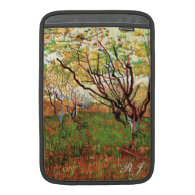 Orchard in Blossom Vincent van Gogh MacBook Sleeves