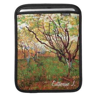 Orchard in Blossom Vincent van Gogh iPad Sleeve