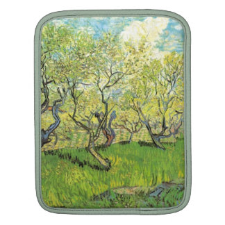 Orchard in Blossom, Vincent van Gogh iPad Sleeve