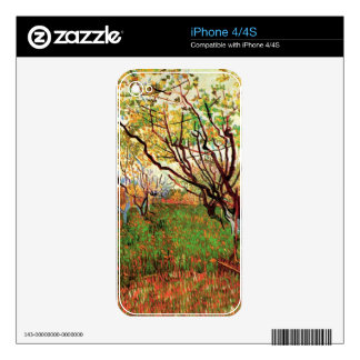 Orchard in Blossom, Vincent van Gogh iPhone 4S Decals