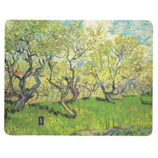 Orchard in Blossom.  Vincent van Gogh. Journal
