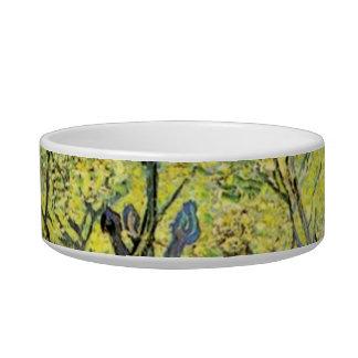 Orchard in Blossom Vincent van Gogh Pet Food Bowls