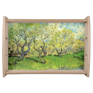 Orchard in Blossom, Vincent van Gogh. Food Tray