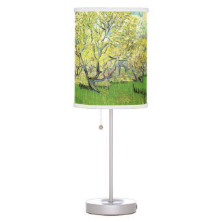 Orchard in Blossom.  Vincent van Gogh. Table Lamp