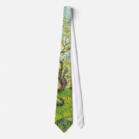 Orchard in Blossom, Vincent van Gogh Tie