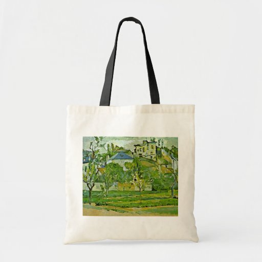 Orchard In Pontoise By Paul Cézanne (Best Quality) Bag