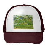 Orchard In Pontoise By Paul Cézanne (Best Quality) Hats