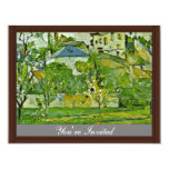 Orchard In Pontoise By Paul Cézanne (Best Quality) Announcements