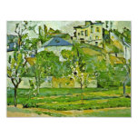 Orchard In Pontoise By Paul Cézanne (Best Quality) Personalized Invite