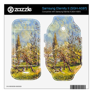 Orchard in spring by Alfred Sisley Samsung Eternity II Skins
