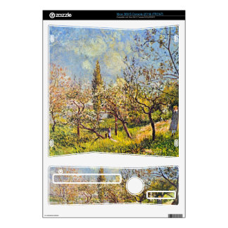 Orchard in spring by Alfred Sisley Xbox 360 S Decals