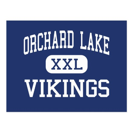 Orchard Lake Vikings Middle West Bloomfield Post Cards
